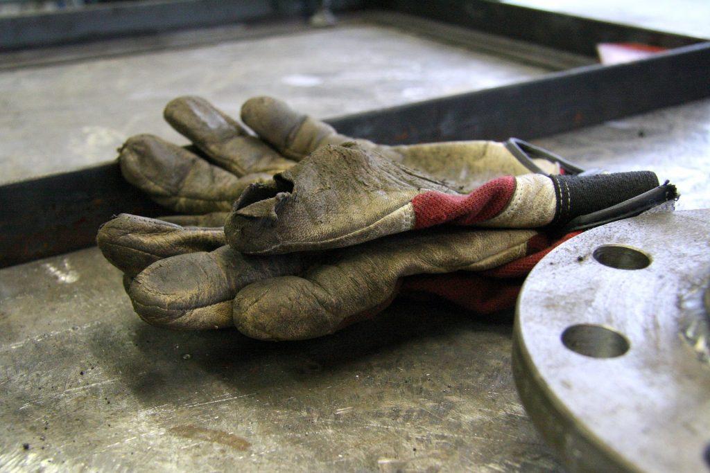 guantes soldador